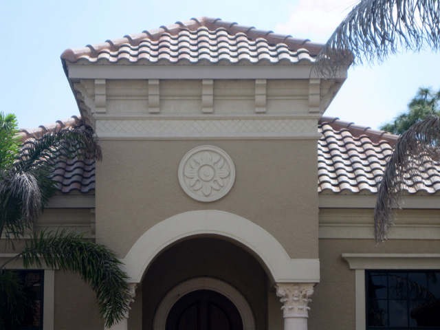 Architectural foam systems for Architectural medallions exterior